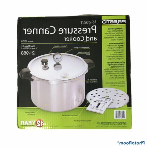 pressure canner and cooker 16 qt 01755