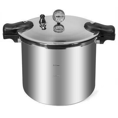 22-Quart Cooker Dial Gauge Gas