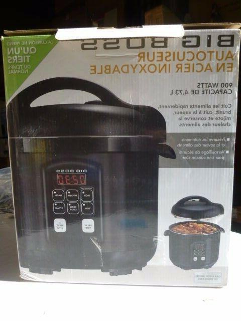 Big pressure cooker 900 Watt 5