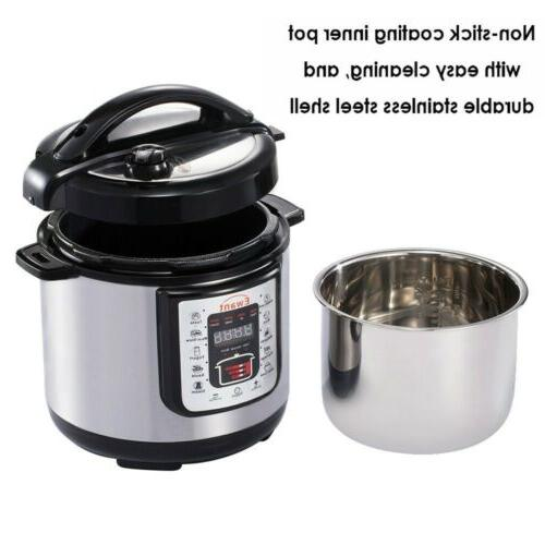 Pressure Cooker Multi-Use Programmable maker Stainless USA