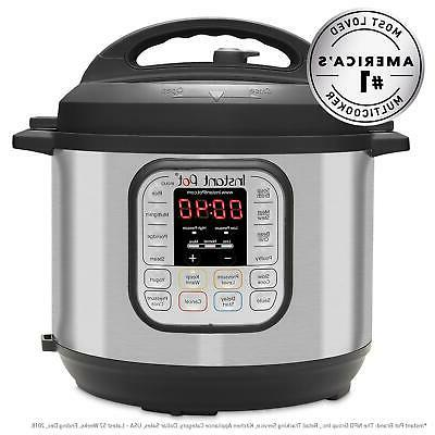 Pressure Cooker Pot 6-Quart 7-in-1 Multi-Use Slow