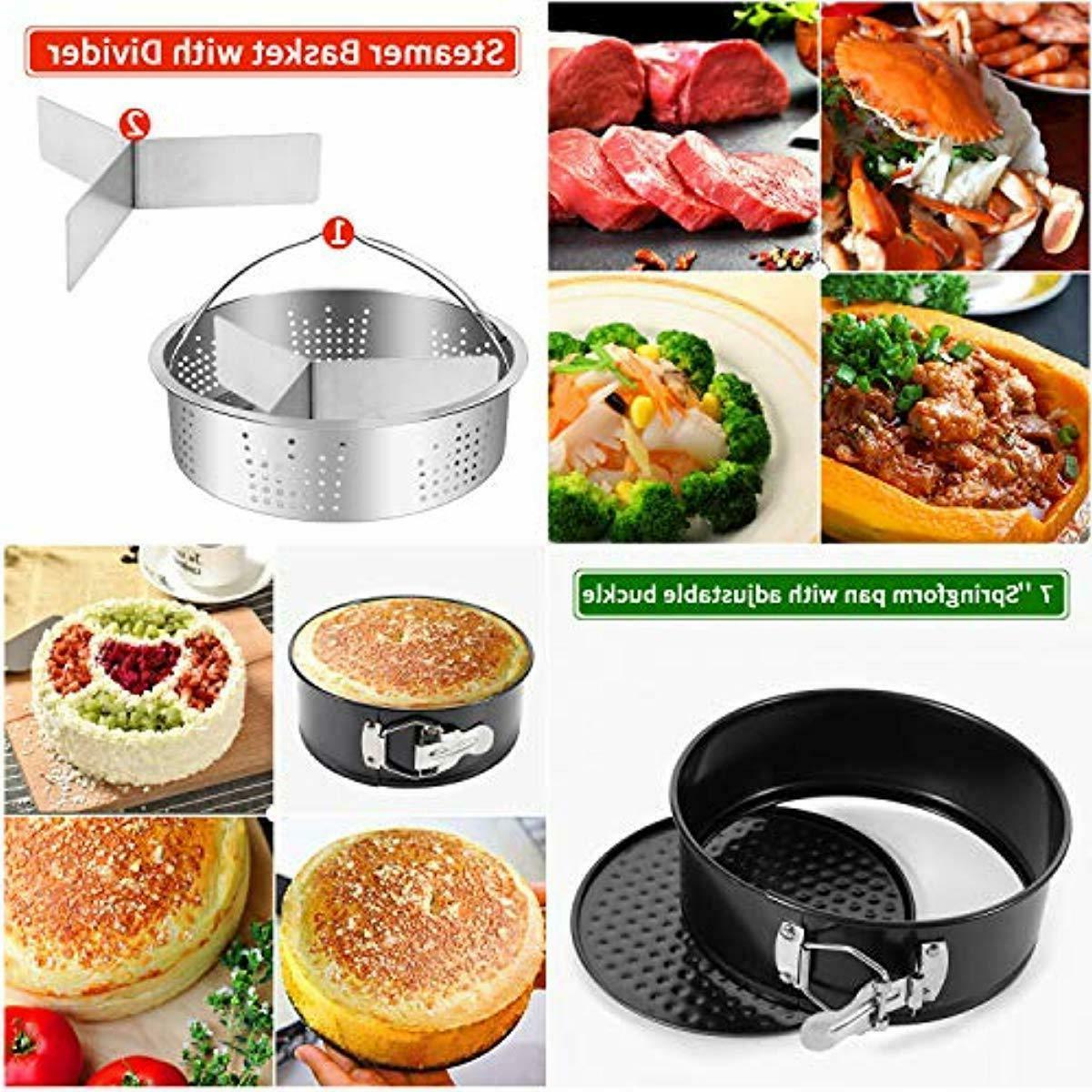 Pressure Cooker Compatible w/ 5,6 13 PCS