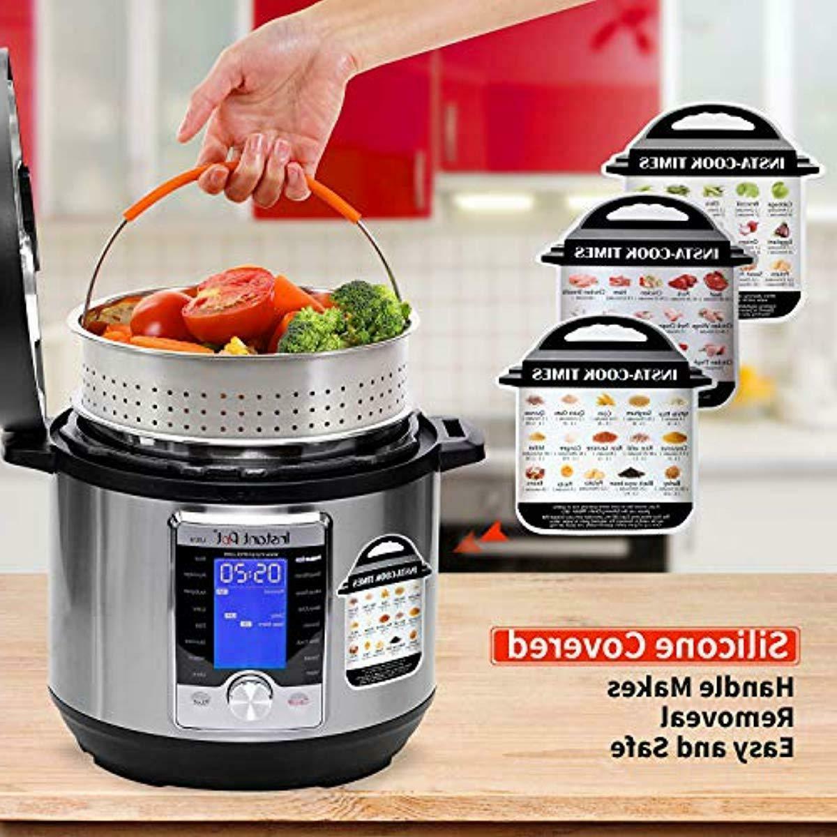 Pressure Cooker Set Compatible w/ Instant Pot 5,6 Qt 8 13