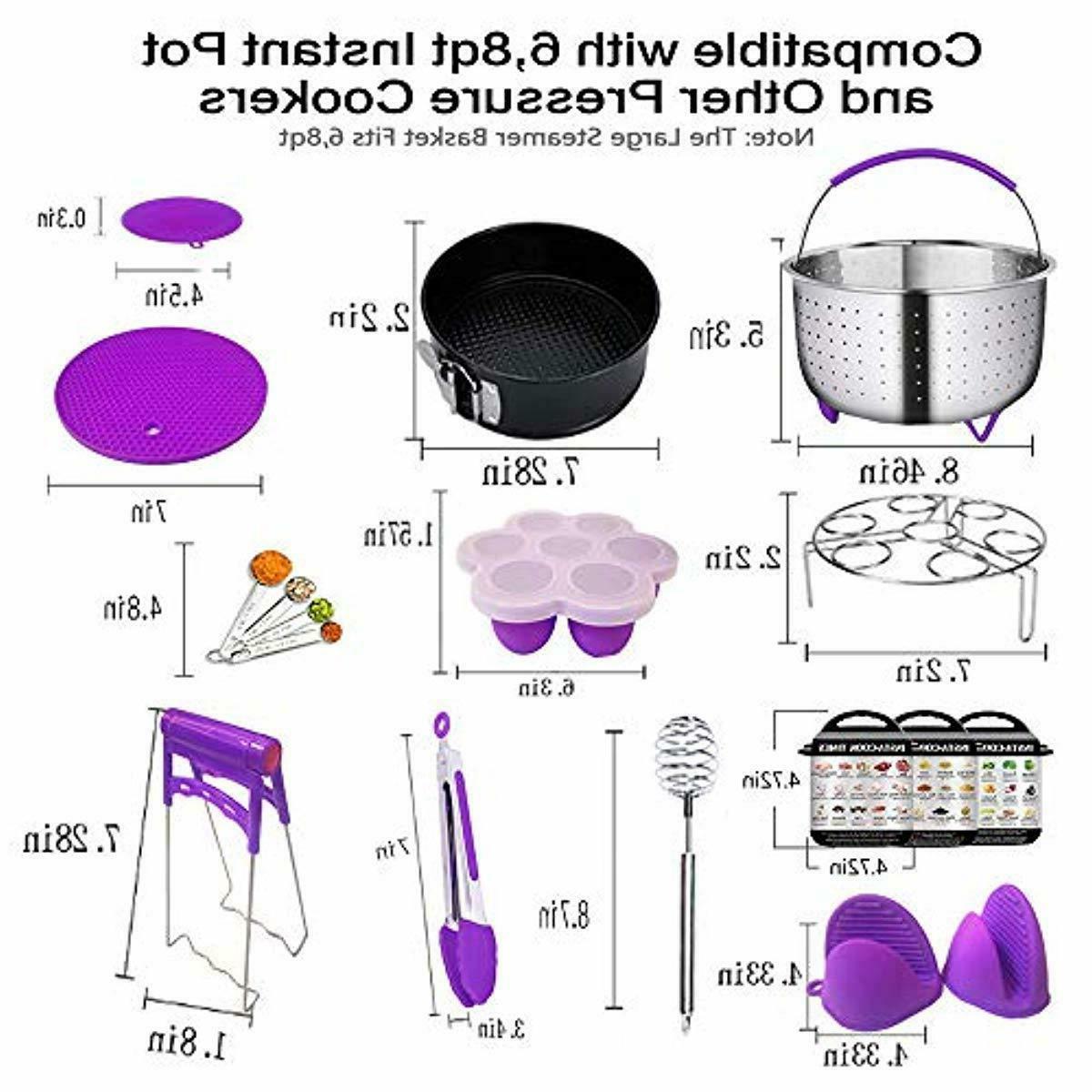 Pressure Cooker Accessories Basket Pcs