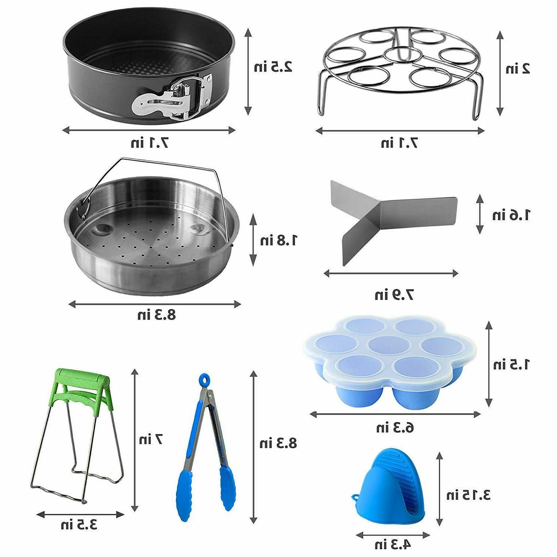 Pressure Compatible Pot 5,6,8 Qt