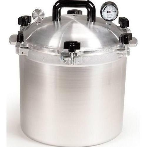cookers steamers american 921 quart pressure cooker canner