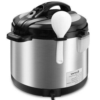 Stainless Steel Powerful 1000W Multifunction Pot