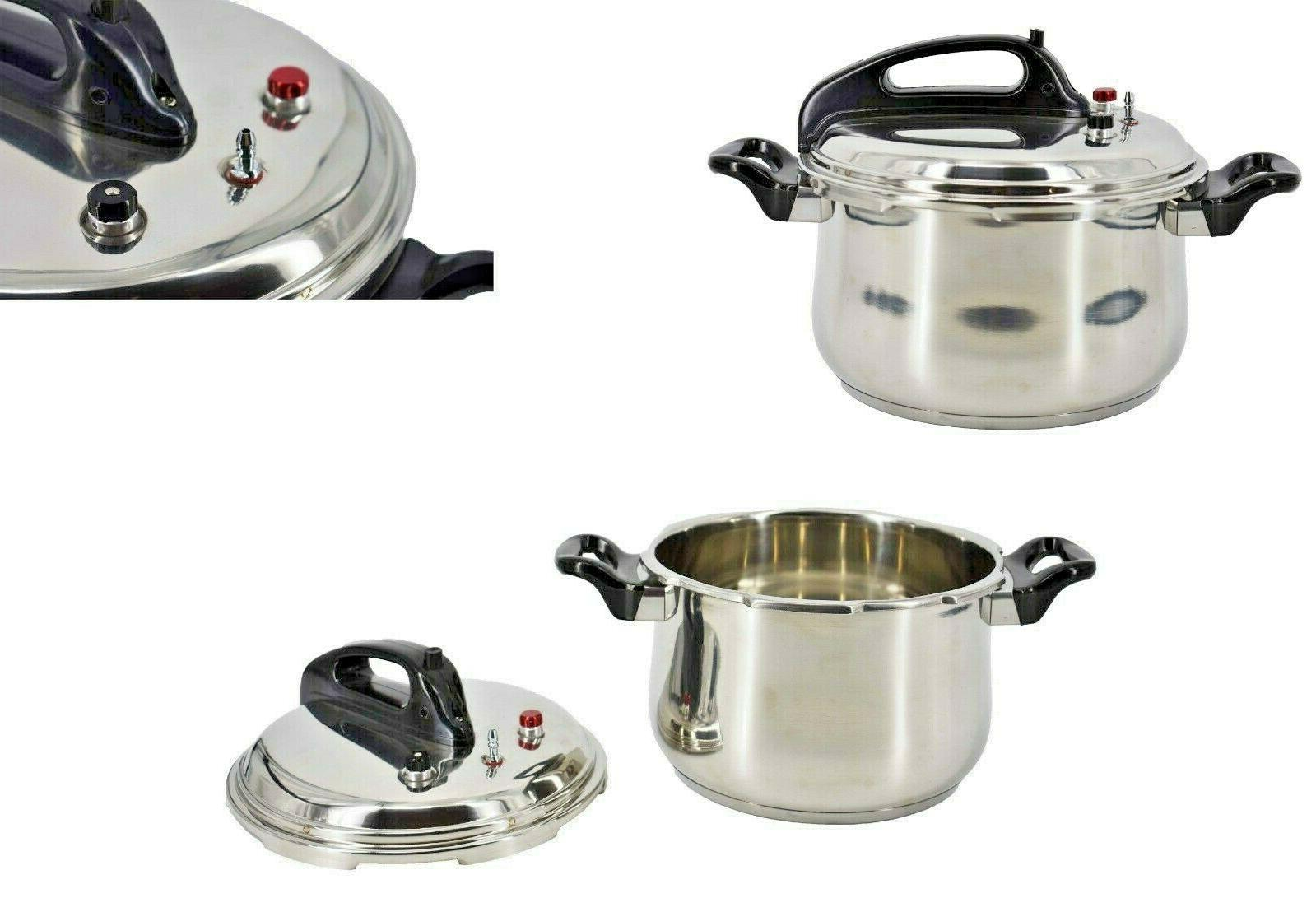 Stainless Steel Pressure With Quarts,Silver