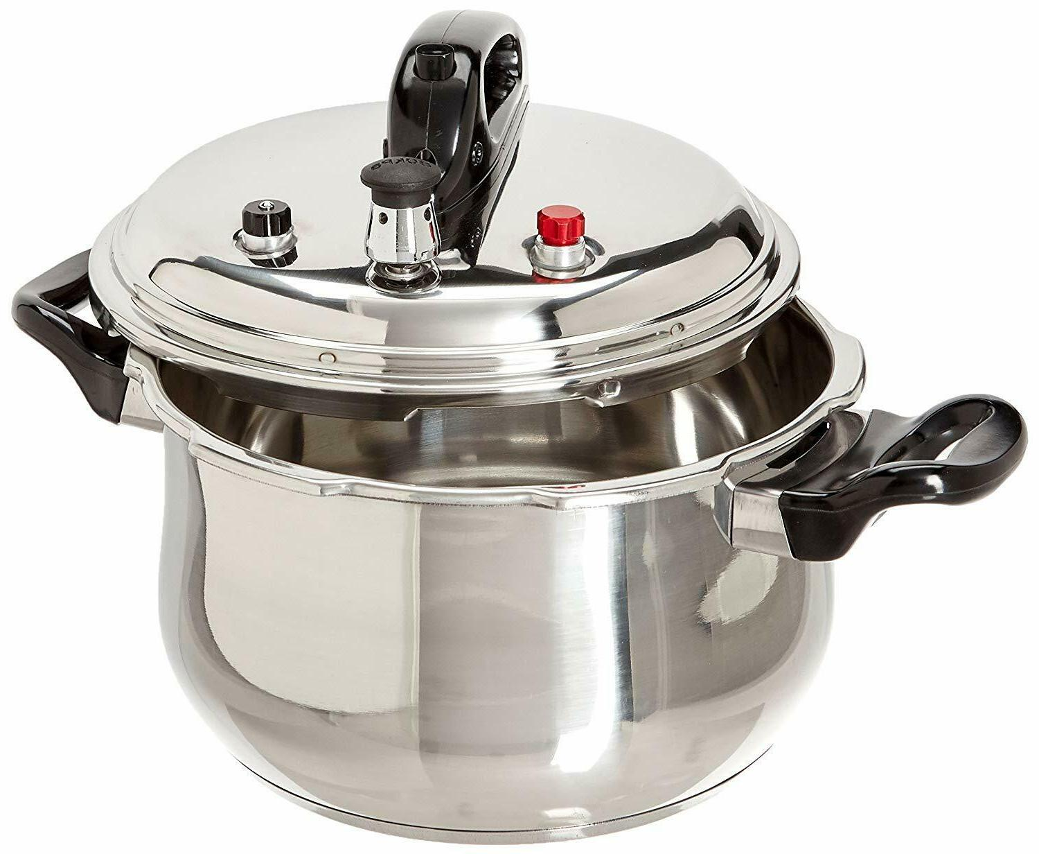 stainless steel pressure cooker silver 5 28