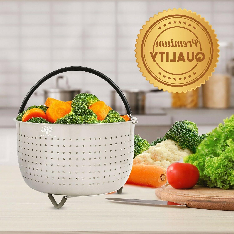 Steamer Basket for Instant Pot - QT Accessories Instapot 6QT
