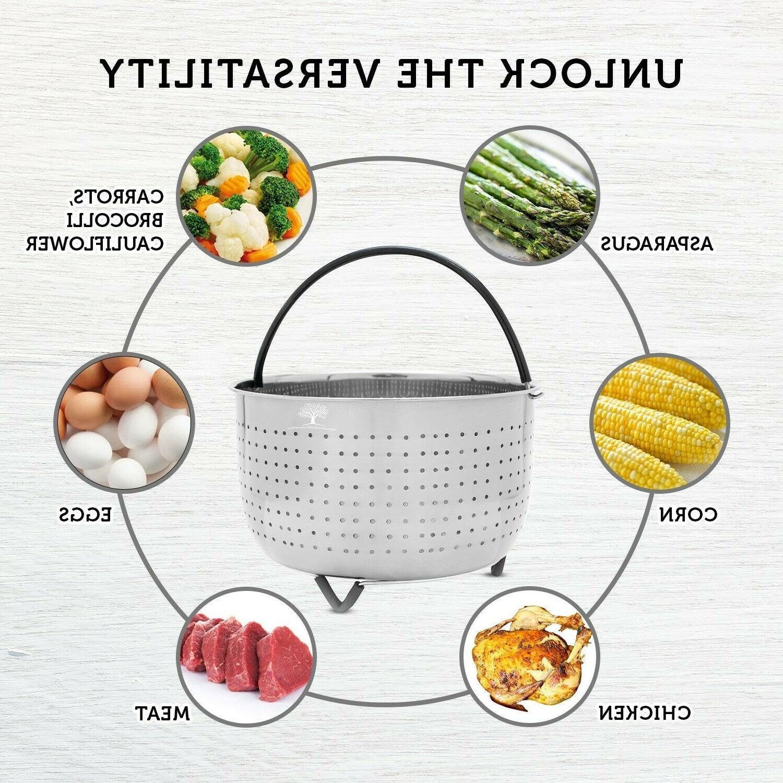 Steamer Basket Instant Pot - 8 Instapot 6QT