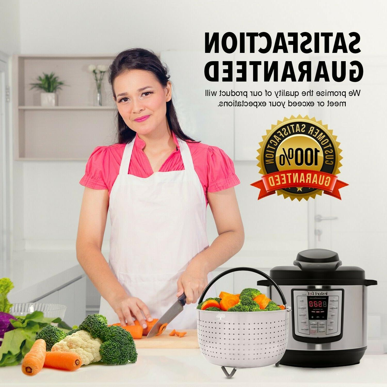 Steamer Basket Pot 6 - QT Cooker Instapot 6QT