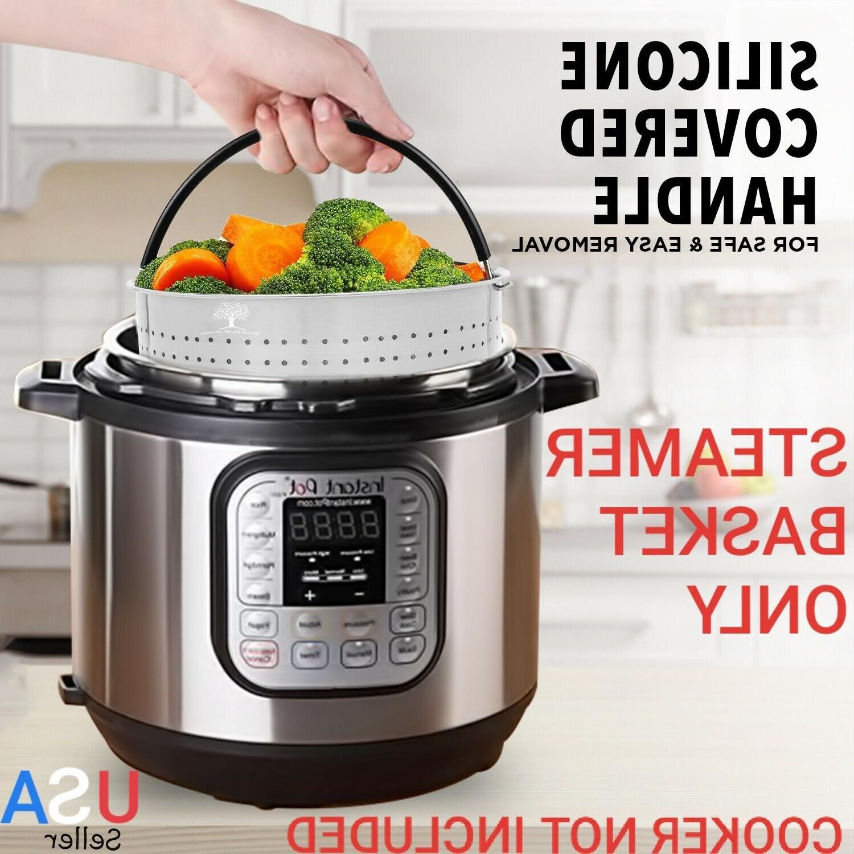 Steamer for Pot 6 QT Pressure Cooker Instapot