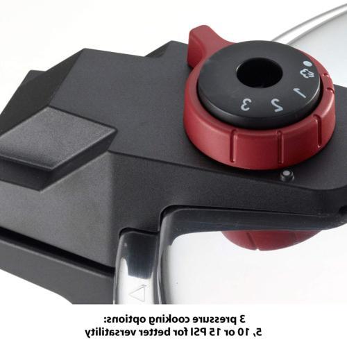 T-fal Cooker, Pressure 3 Settings,