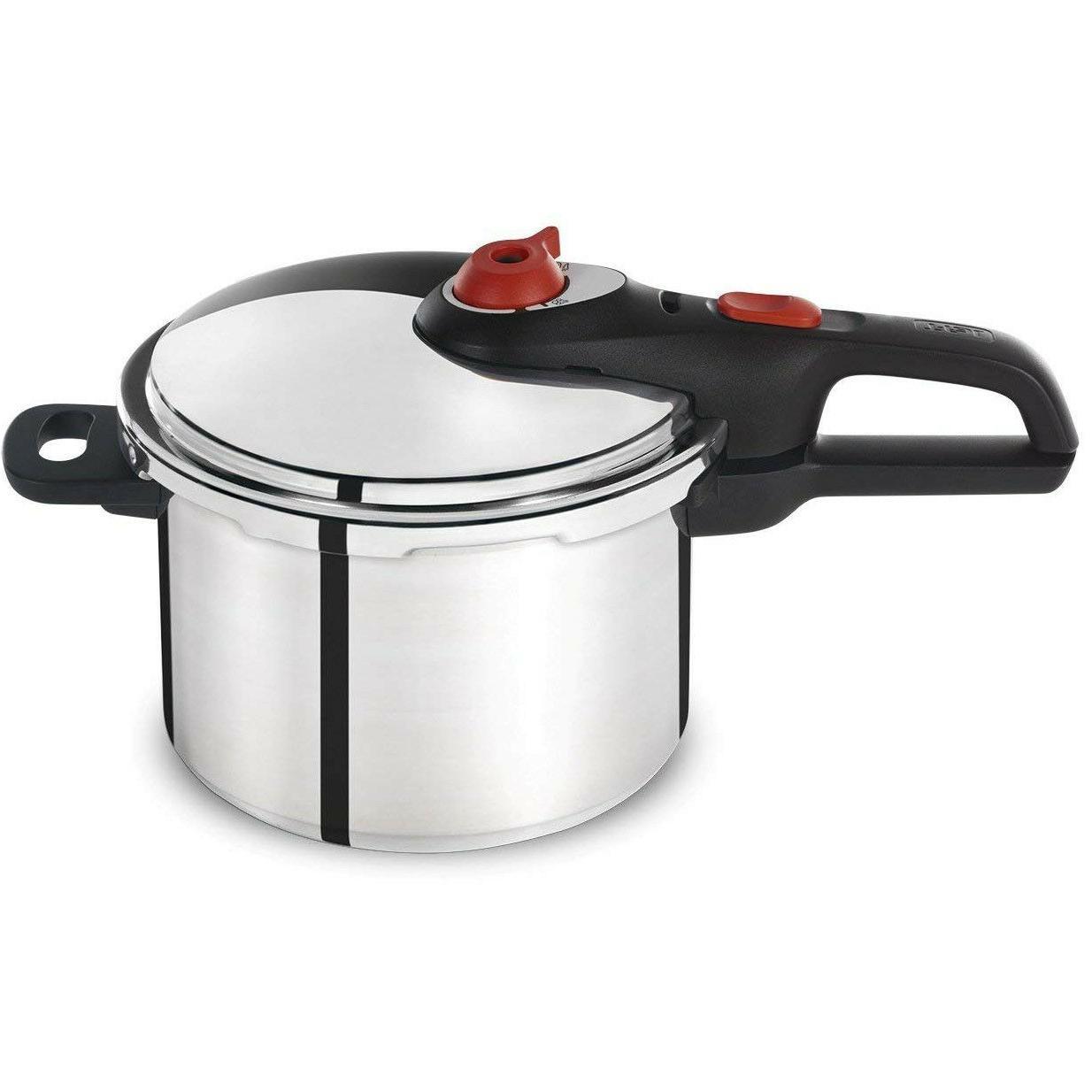 t fal pressure cooker 6 quart aluminum