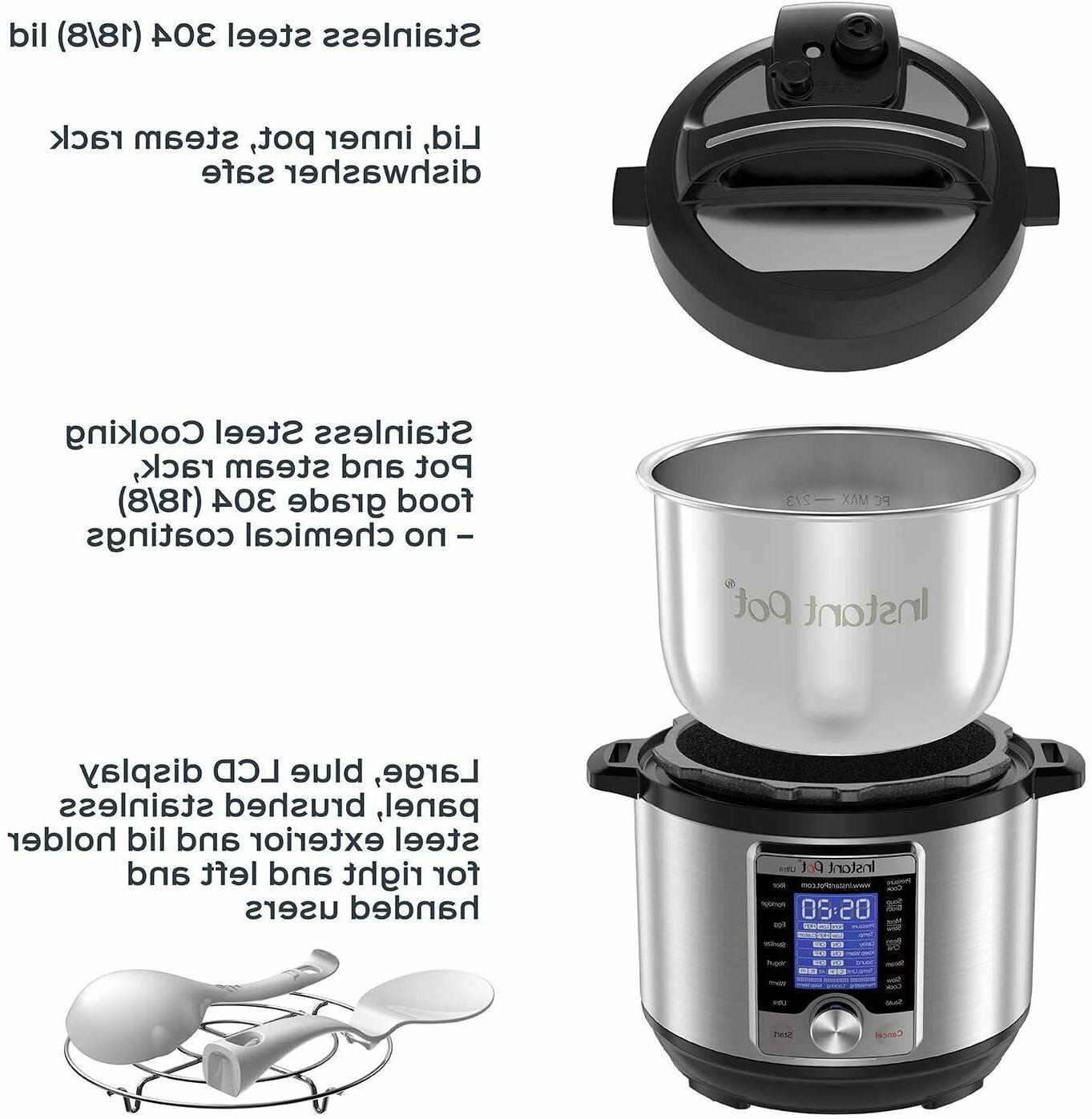 Instant Pot Ultra Programmable 3qt -