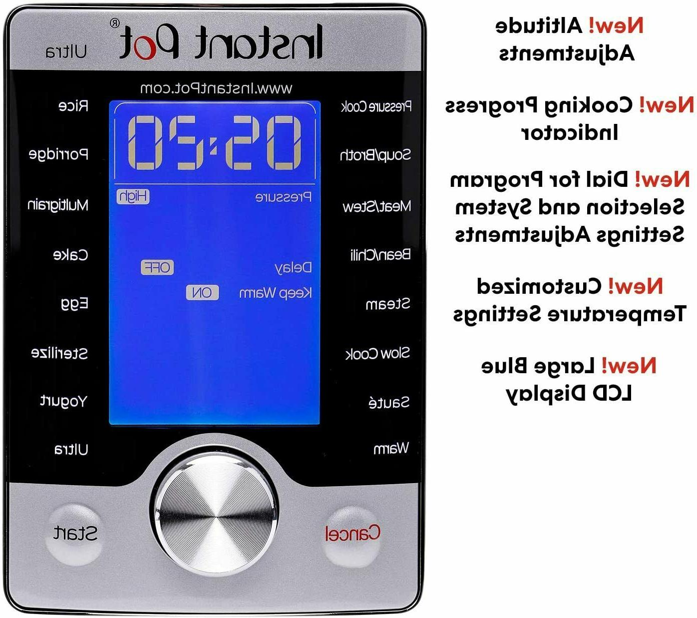 Instant Ultra Programmable Pressure 3qt -