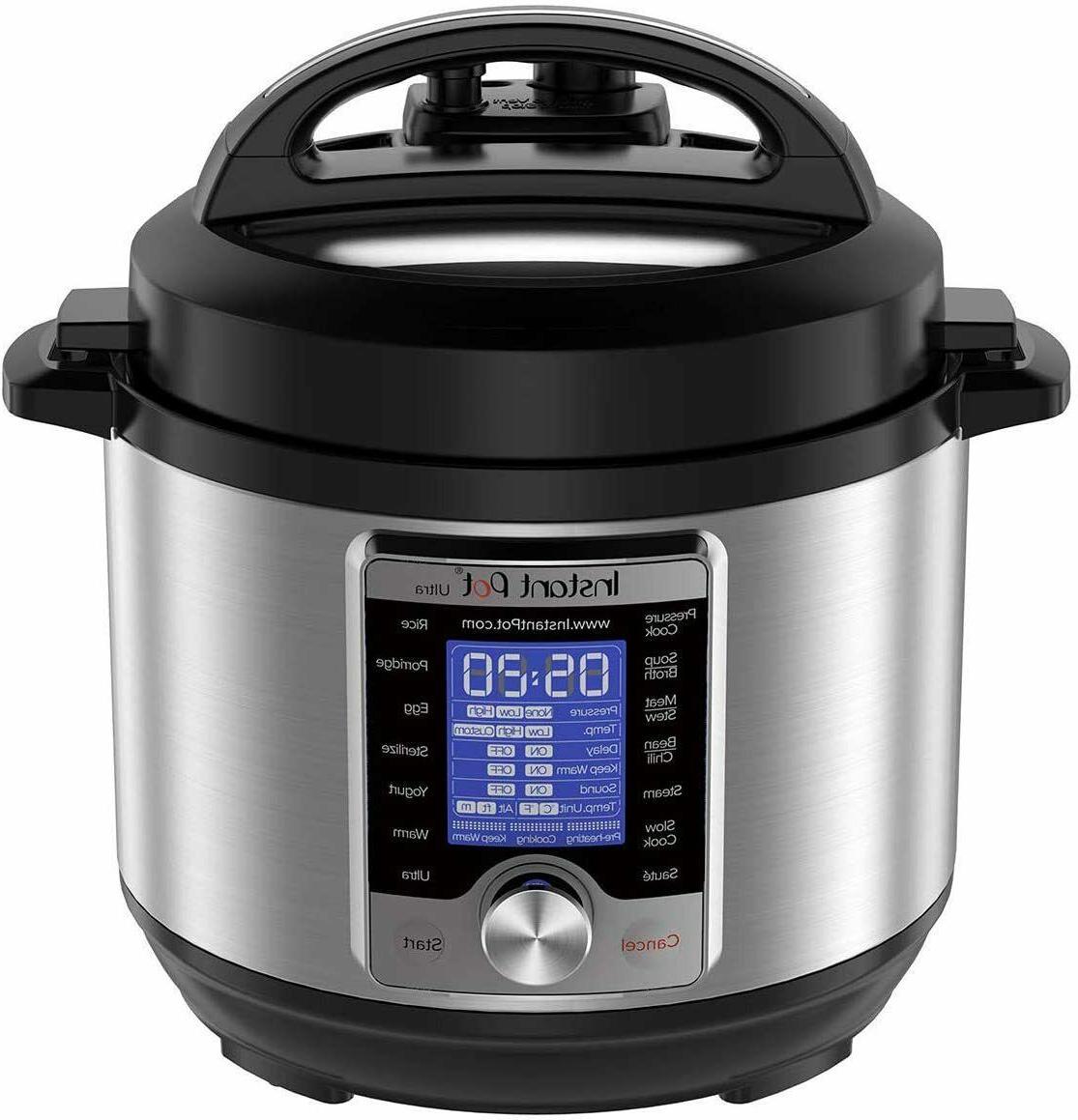 instant pot 10 in 1 programmable pressure