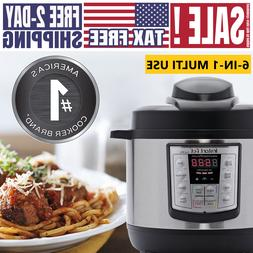 Instant Pot LUX Mini 3Qt  6-in-1 Electric Pressure Cooker NE