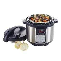 Fagor LUX Multi-Cooker 4-Quart Electric Pressure, Slow and R
