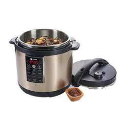 Champagne 935010054 Electric Pressure Cooker Slow Cooker Fagor LUX ...