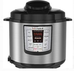 Instant Pot LUX60 V3 6 Qt 6-in-1 Multi-Use Programmable Pres