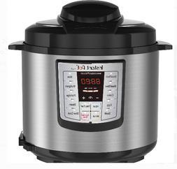 Instant Pot LUX60 V3 6 Qt 6-in-1 Multi-Use Programmable Pres