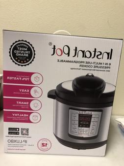 Instant Pot LUX80 8 Qt 6-in-1 Multi- Use Programmable Pressu
