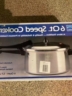 Mirro Matic 6 Qt Speed Pressure Cooker Canner M 0536