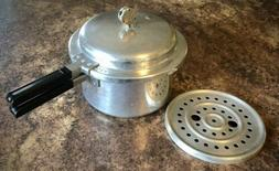 MIRRO-MATIC Pressure Cooker 4 Qt. Pan, Jiggler, Seal, Bottom