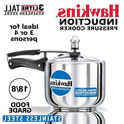 Hawkins B33 3 Litre Pressure Cooker Stainless Steel Small Si