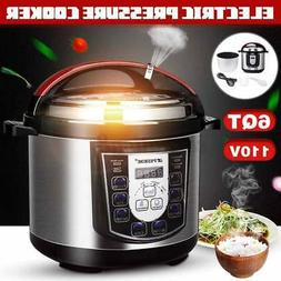 Multi-function 1000W 6L Electric Pressure Cooker Fast Cookin