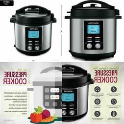 Multi-Mode Pot Pressure Cooker 1200W 8 Qt. Capacity 14-in-1