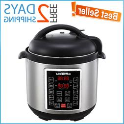 Multi-Use Pressure Cooker Programmable Instapot 8 Qt Plus In