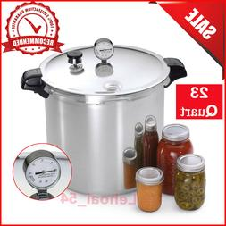 NEW - Presto 01781 23-Quart Pressure Canner and Cooker, Silv