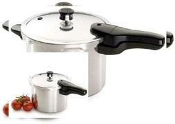 NEW 6-Quart Aluminum Pressure Cooker w/ Rack FREE SHIPPING