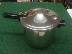 NEW - Presto 6 Quart Stainless Steel Pressure Cooker