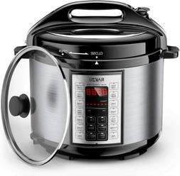 New Elechomes 6Qt 9-in-1 Instant Pot Electric Pressure Multi