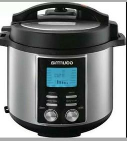 New! Gourmia 8 Qt. Capacity 14-in-1 Stainless Multi-Mode Pot