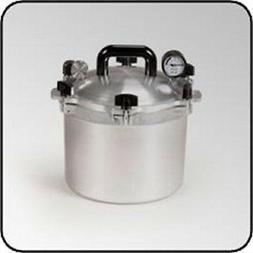 NEW ALL AMERICAN 910 USA MADE 10.5 QUART PRESSURE COOKER CAN