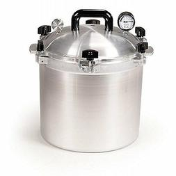 NEW ALL AMERICAN 921 USA MADE 21.5 QUART PRESSURE COOKER CAN