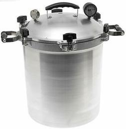 NEW ALL AMERICAN 930 USA MADE 30 QUART PRESSURE COOKER CANNE
