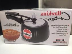 NEW Hawkins CB30 Hard Anodized Pressure Cooker, 3 Liter Cont