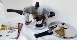 NEW Kuhn Rikon Duromatic Inox Stainless 5.3 Qt Pressure Cook