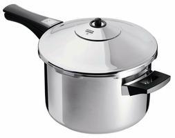 NEW Kuhn Rikon Duromatic Stainless-Steel Saucepan Pressure C
