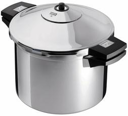 NEW Kuhn Rikon  Duromatic Stainless-Steel Stockpot Pressure