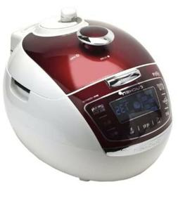 NEW Cuchen Premium IH Pressure Rice Cooker 6Cup, Burgundy WH