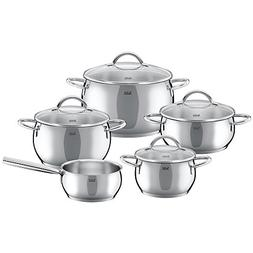 Silit Nobile Stainless Steel Induction Cookware Set - 9-Piec