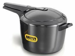 Futura O90 Pressure Cooker, 9 L, Silver