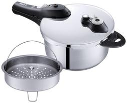 """T-fal One Handed Pressure Cooker""""Secure"""" 3L P2504042"""